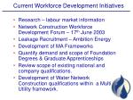 current workforce development initiatives