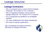 leakage resources1
