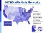 nichd mfm units networks