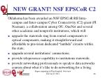 new grant nsf epscor c2