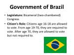 government of brazil1