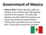 government of mexico1