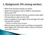 1 background hiv among workers