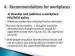 4 recommendations for workplaces1