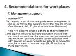 4 recommendations for workplaces5