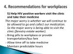 4 recommendations for workplaces7