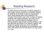 reading research1