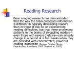 reading research3