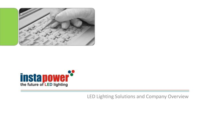 led lighting solutions and company overview n.