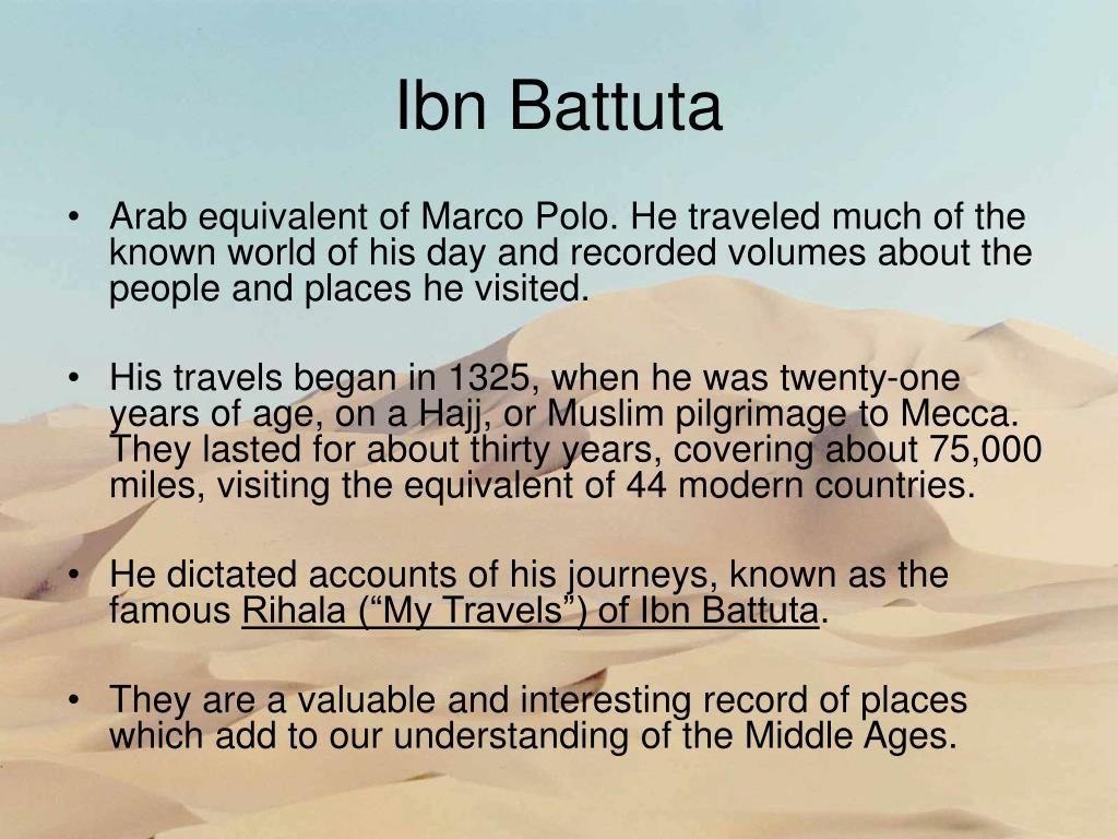 adventures of ibn battuta and marco
