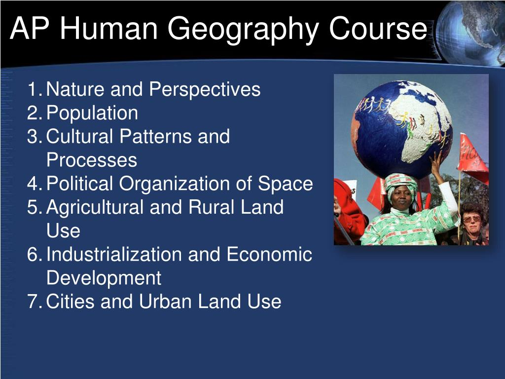 AP Human Geography Course