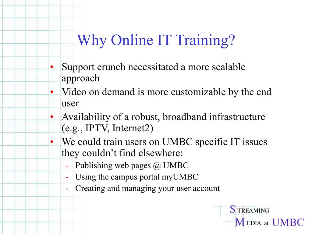 Why Online IT Training?