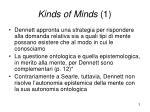 kinds of minds 1