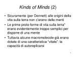 kinds of minds 2