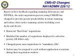 cms id changes navadmin 226 12