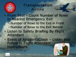 transportation airline