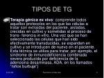 tipos de tg3