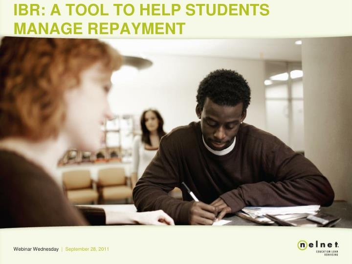 ibr a tool to help students manage repayment n.