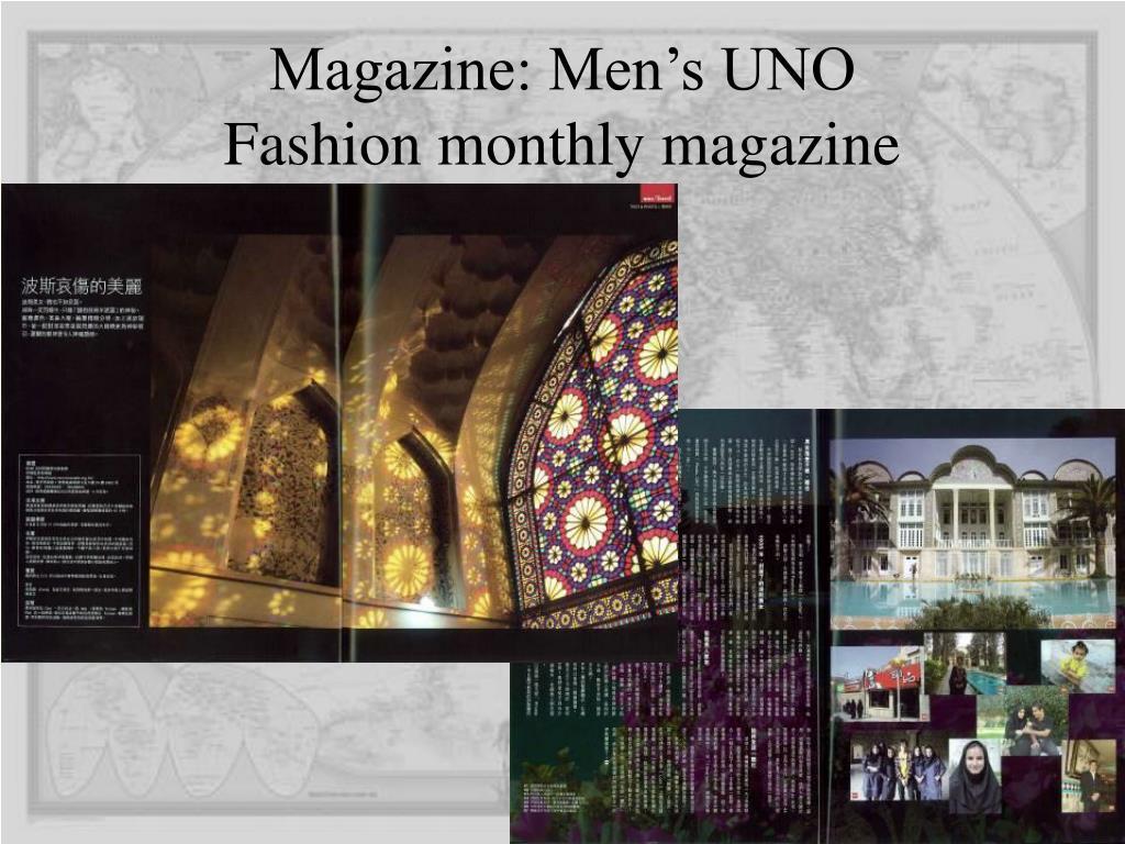 Magazine: Men's UNO