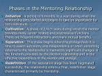 phases in the mentoring relationship1