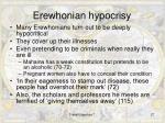 erewhonian hypocrisy