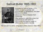 samuel butler 1835 1902