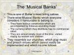 the musical banks
