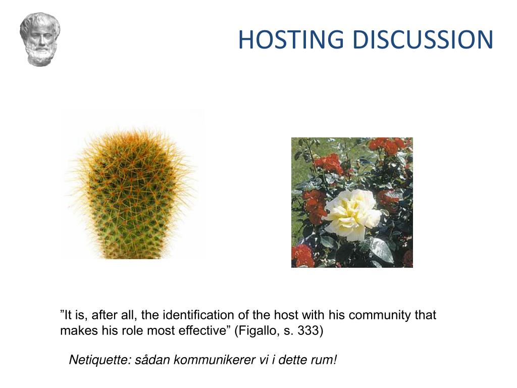 HOSTING DISCUSSION
