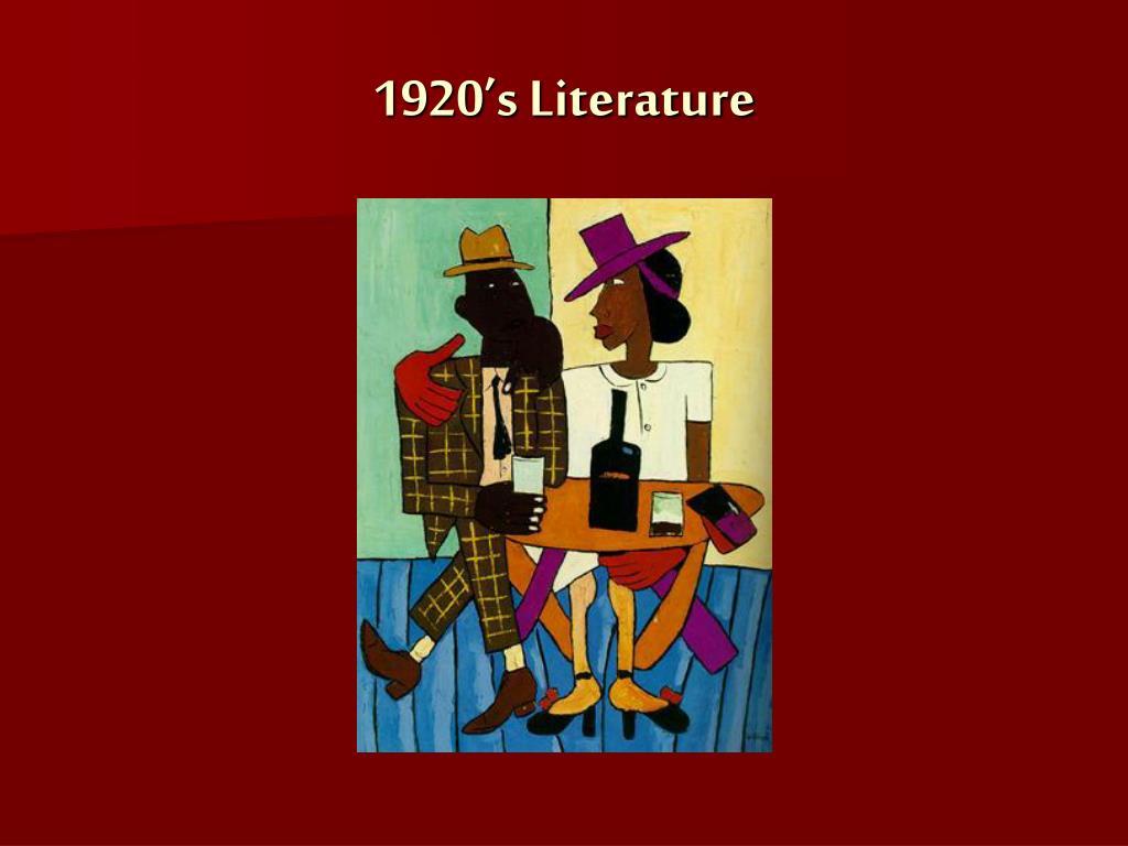 1920 s literature l.