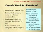 donald duck in nutziland