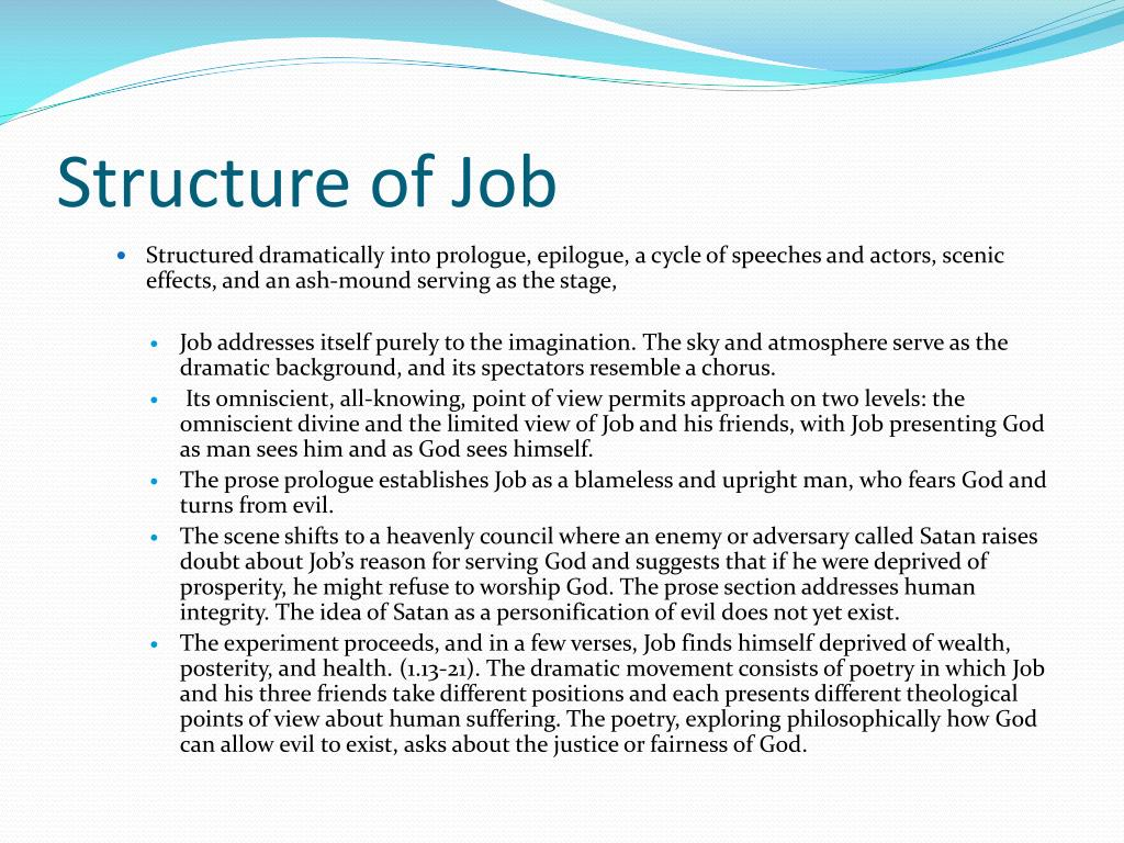 Structure of Job