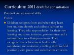 curriculum 2011 draft for consultation3