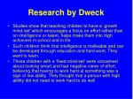 research by dweck1