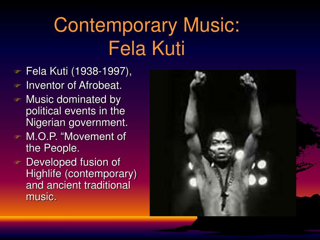 Contemporary Music: