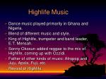 highlife music