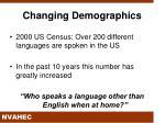 changing demographics1