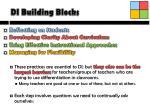 di building blocks