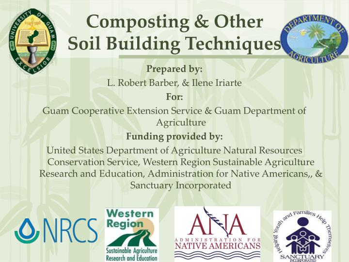 composting other soil building techniques n.