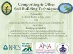 composting other soil building techniques
