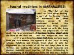funeral traditions in maramures