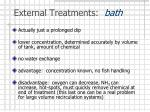 external treatments bath