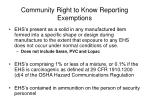 community right to know reporting exemptions3