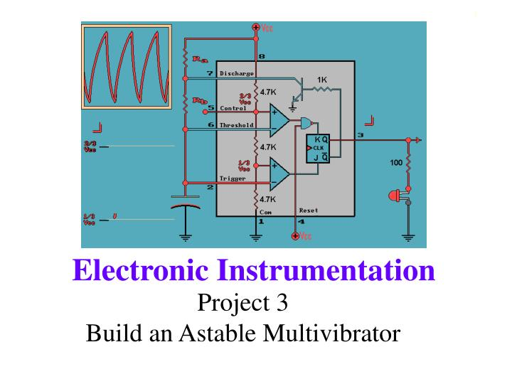 project 3 build an astable multivibrator n.