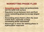 nonwetting phase fluid