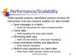 performance scalability
