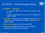iso 20022 technical support group