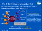the iso 20022 value proposition 5 5