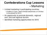 confederations cup lessons marketing