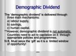 demographic dividend1