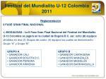 festival del mundialito u 12 colombia 20112